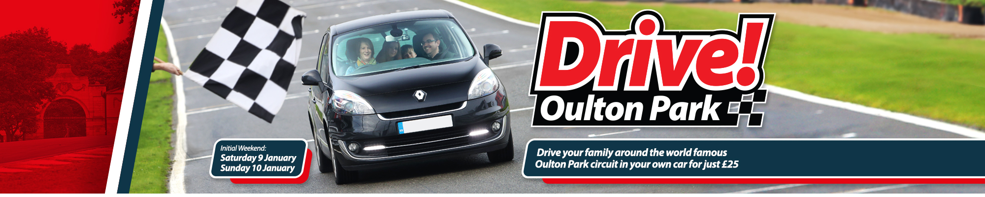 Welcome to Drive! Oulton Park