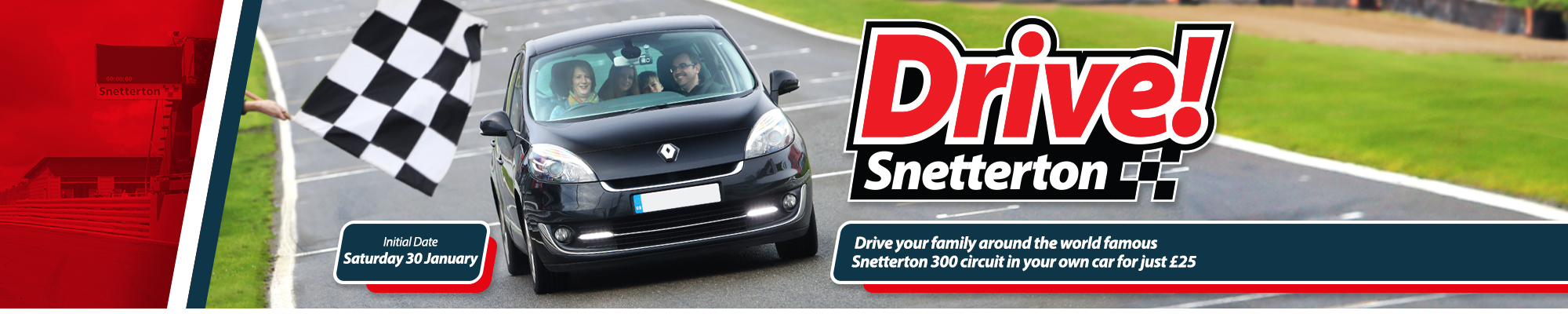 Welcome to Drive! Snetterton
