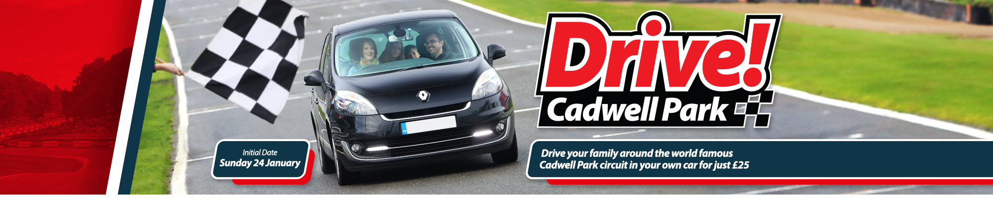 Welcome to Drive! Cadwell Park